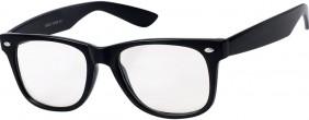 Nerd Brille Ungetönte Gläser