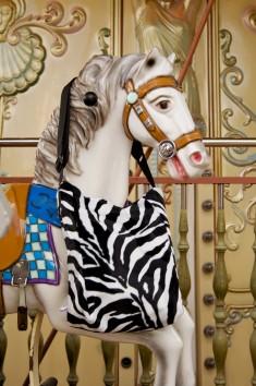 Wechseltasche Zebra
