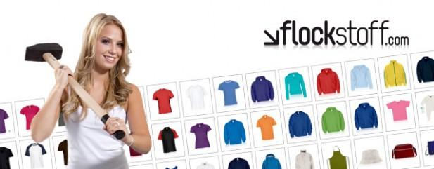 Flockstoff T-Shirts Hammer des Tages günstig