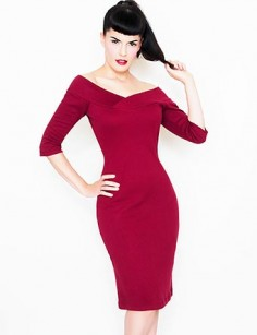 Rockabilly Kleid Anita dress red