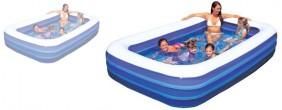 großer Swimming Pool planschbecken aufblasbar