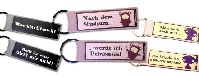 Dienstmädchen Schlüsselanhänger und Taschenanhänger
